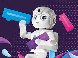 悟空机器人教育版包装盒设计