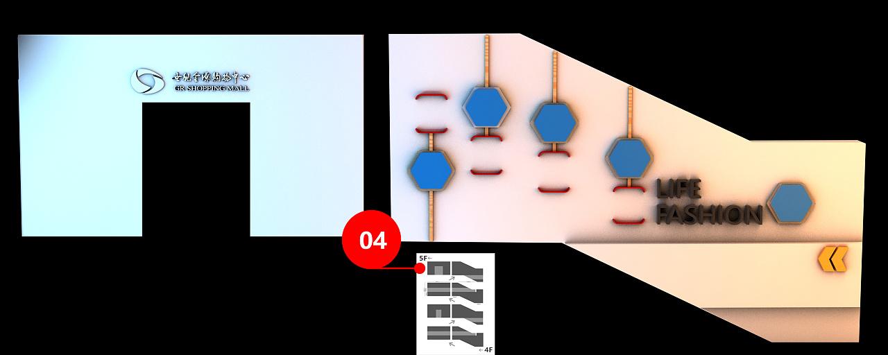 员工形象墙论+�_企业员工通道形象墙设计