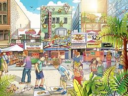 习图——夏日杂记