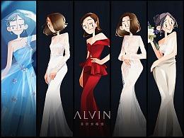 ALVIN GALLERY | 婚纱笔记集合