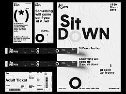 《SitDown》 品牌活动设计