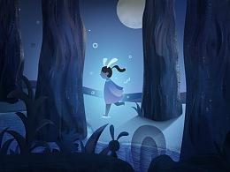 寻梦之旅-小米MIX2全面屏海报创意设计大赛