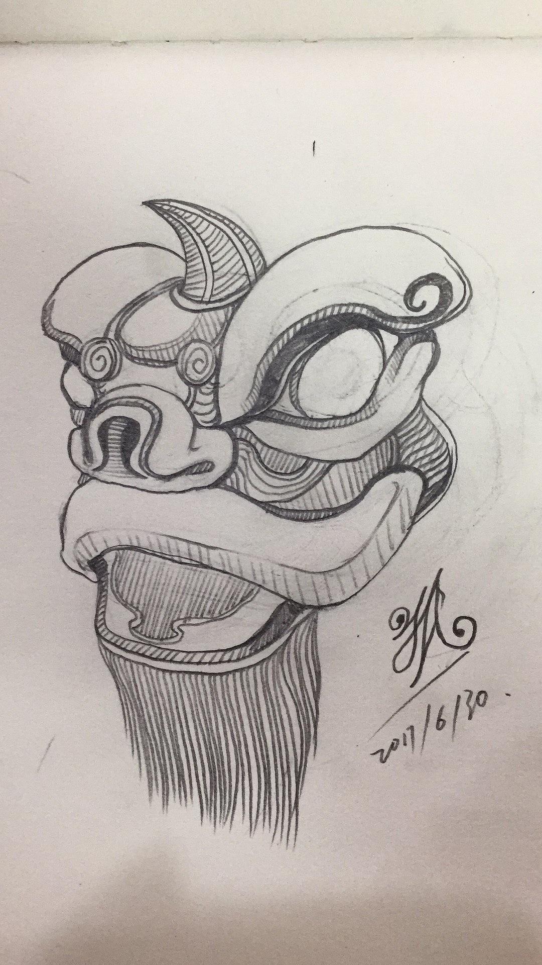 国外男人脖子凶悍的班诺文身图图案-第1张图 - 纹身部落