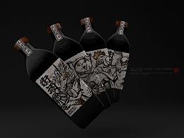 【津门神兽·天津卫酒】白酒包装