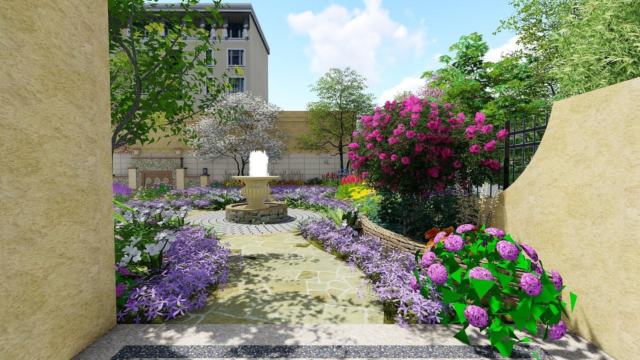 日式别墅庭院设计_别墅庭院车库设计_别墅庭院入口设计
