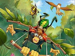 昆虫记漫画封面图
