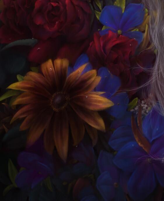查看《FLOWER BURIAL》原图,原图尺寸:562x687