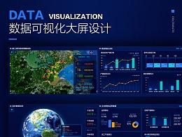 数据可视化大屏设计-金螳螂项目管理指挥中心-大数据项目