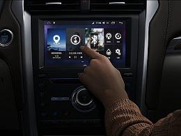 4G安卓大屏导航车机UI
