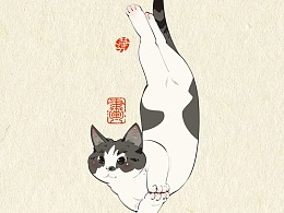 画猫的第三季250天,937天的画猫纪录