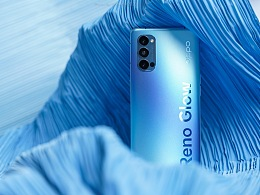 OPPO Reno4 Pro 晶钻蓝