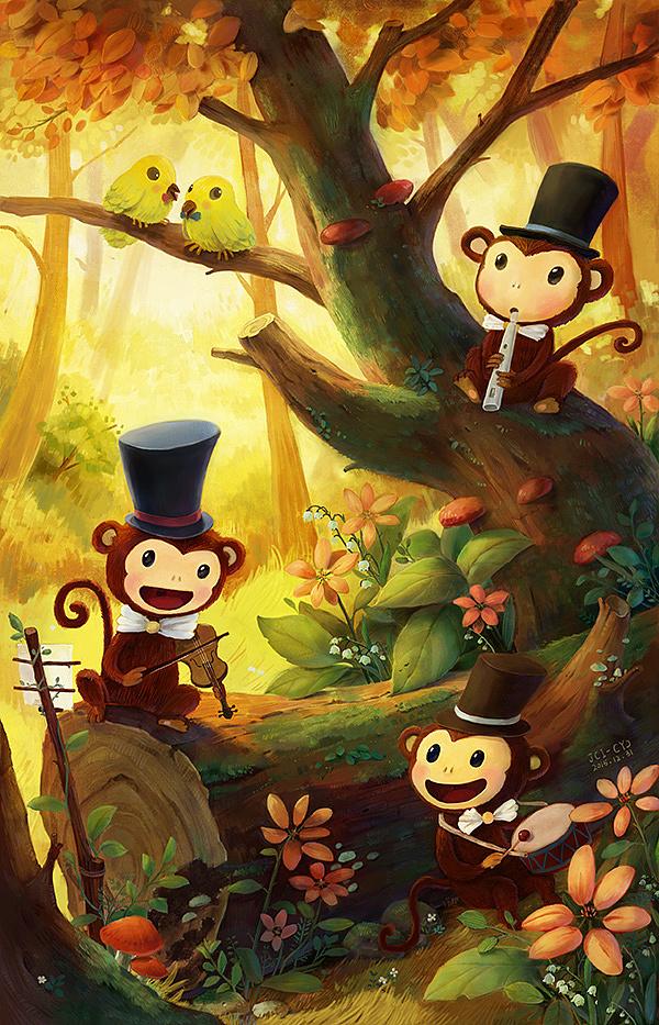 嘿猴-森林乐队图片