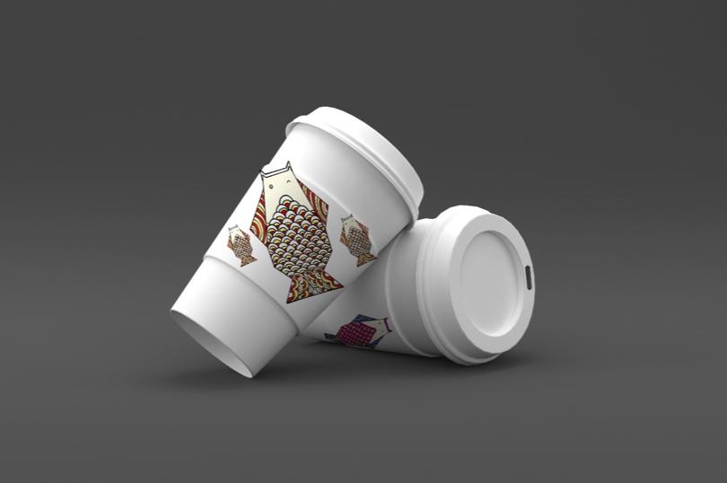 中国传统节日平面创意-端午节|包装|平面|黑白格520