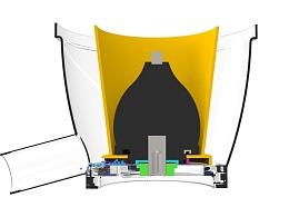 某品牌榨汁机产品侵权结构动画制作示例