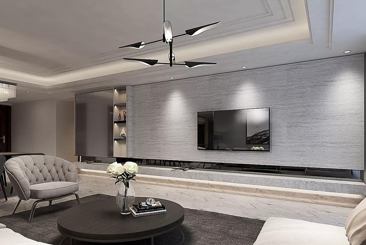 220平意式高级灰装修设计效果图!|空间|室内设计|贵阳装修公司排名 - 原创作品 - 站酷 (ZCOOL)