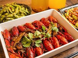 旺季小龙虾及配菜