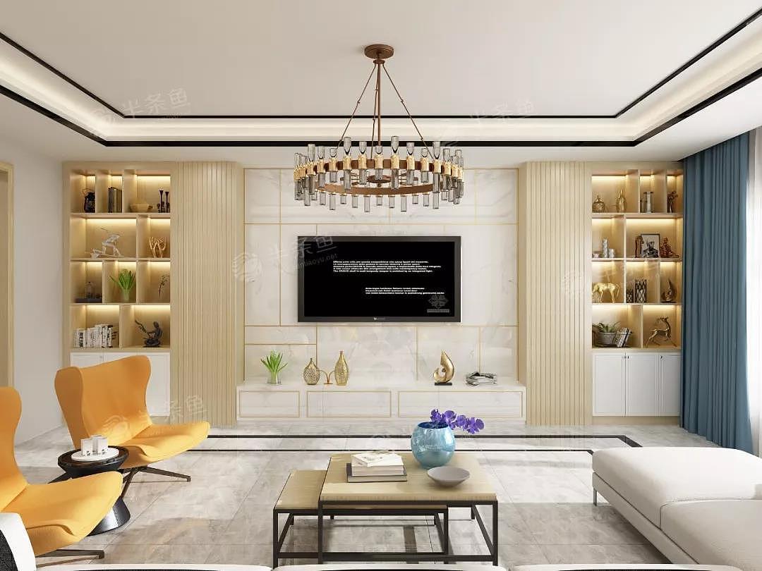 电视柜 收纳 | 15款结构设计|空间|室内设计|小鱼儿的