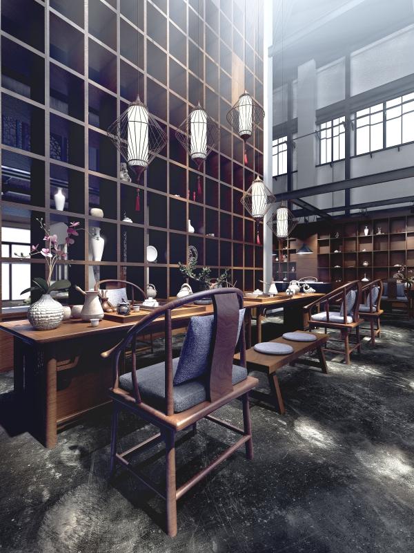 个旧茶楼设计丨卧云茶楼设计装修|室内设计|空间