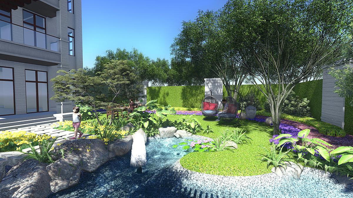 私家花园设计打造|空间|景观设计|497415209 - 原创