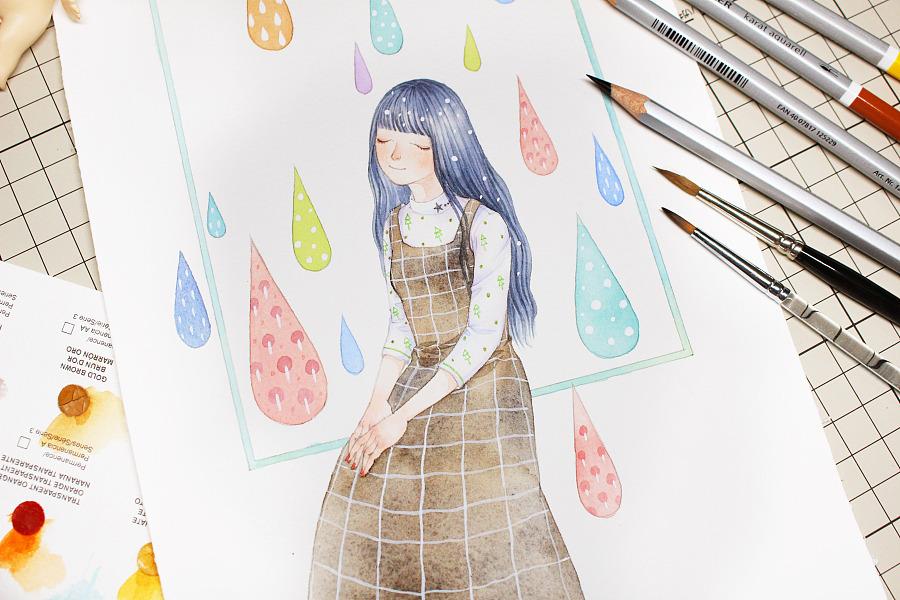 查看《彩色的雨》原图,原图尺寸:5184x3456