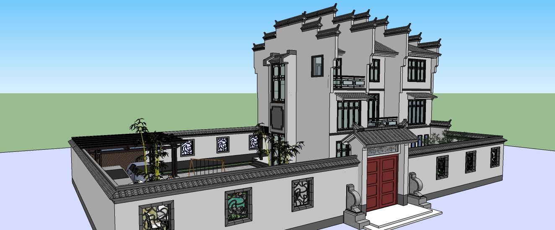 江南民居建筑设计