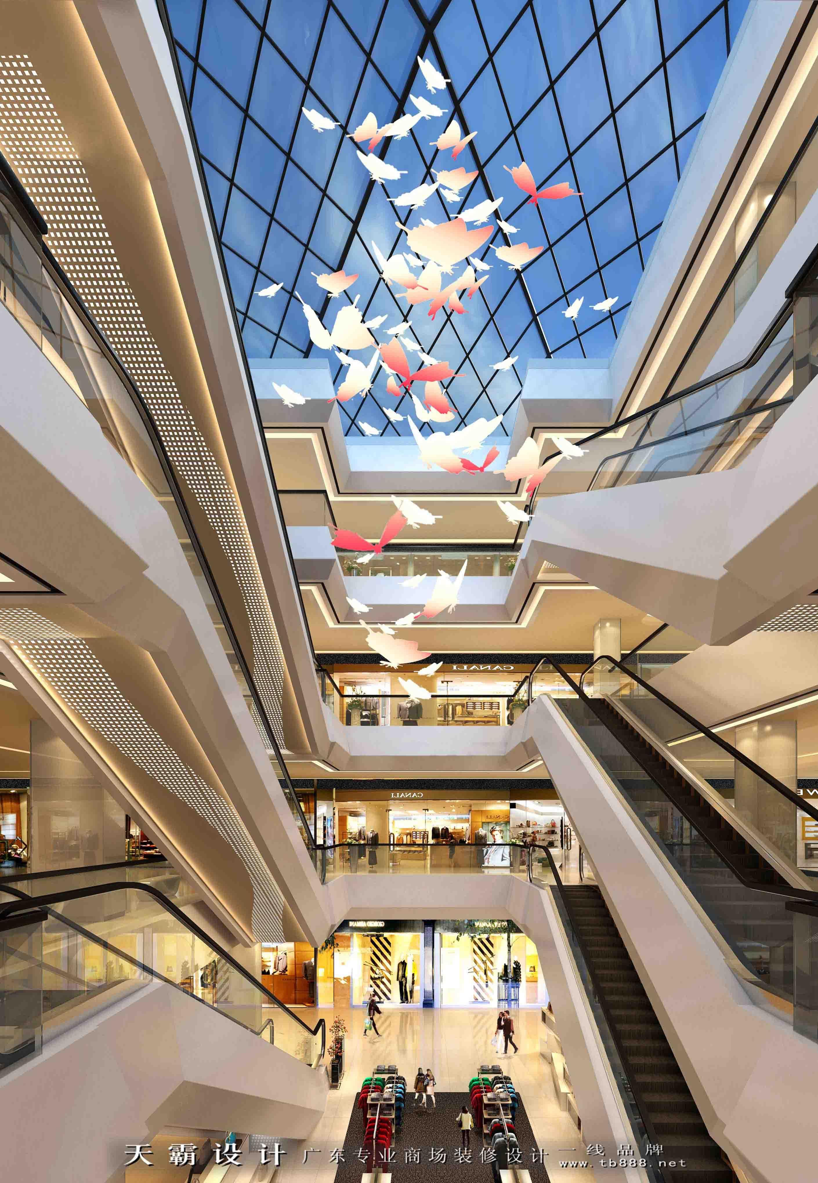 可持续理念下的商场设计效果图分享|空间|建筑设计|j