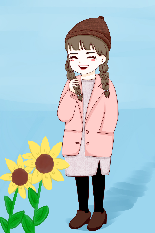 爱笑的女孩更需要人疼