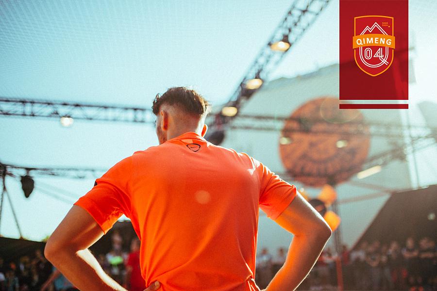 杭州启盟足球俱乐部队徽|标志|平面|子豪设计 -
