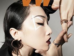 Yamy郭颖《VW Magazine》一月刊封面