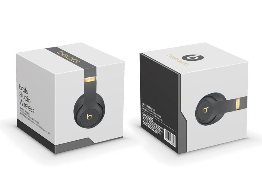 beats蓝牙耳机包装设计|||color9 - 原创设计作品图片