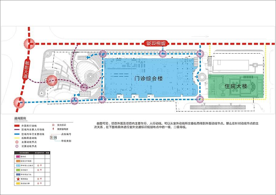 四川省人民医院(西区)导视系统规划设计|导视设