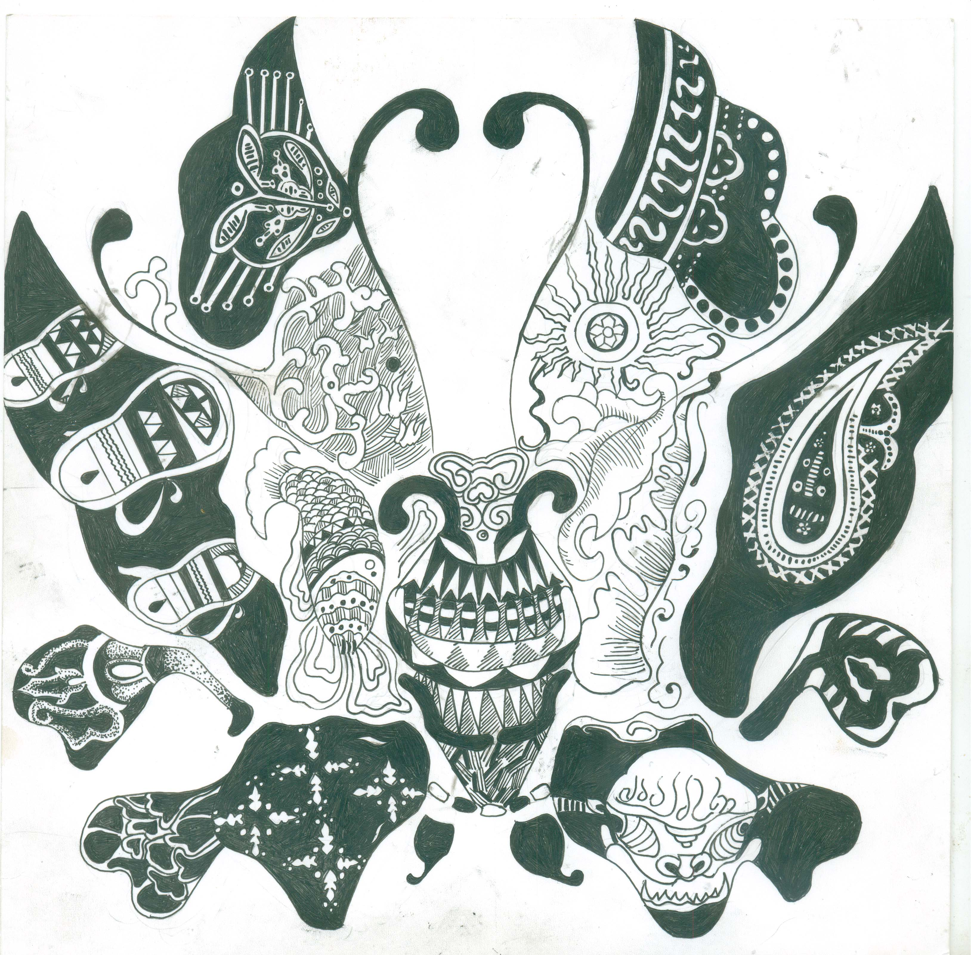 装饰图案 平面 平面其他 丘比特娜 - 原创作品 - 站酷
