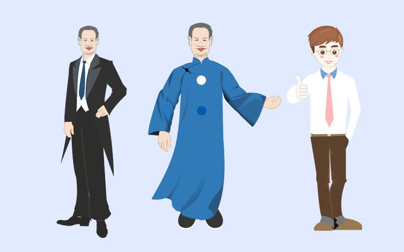 漫画人物的衣服怎么画