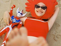 西红柿咸蛋小螃蟹