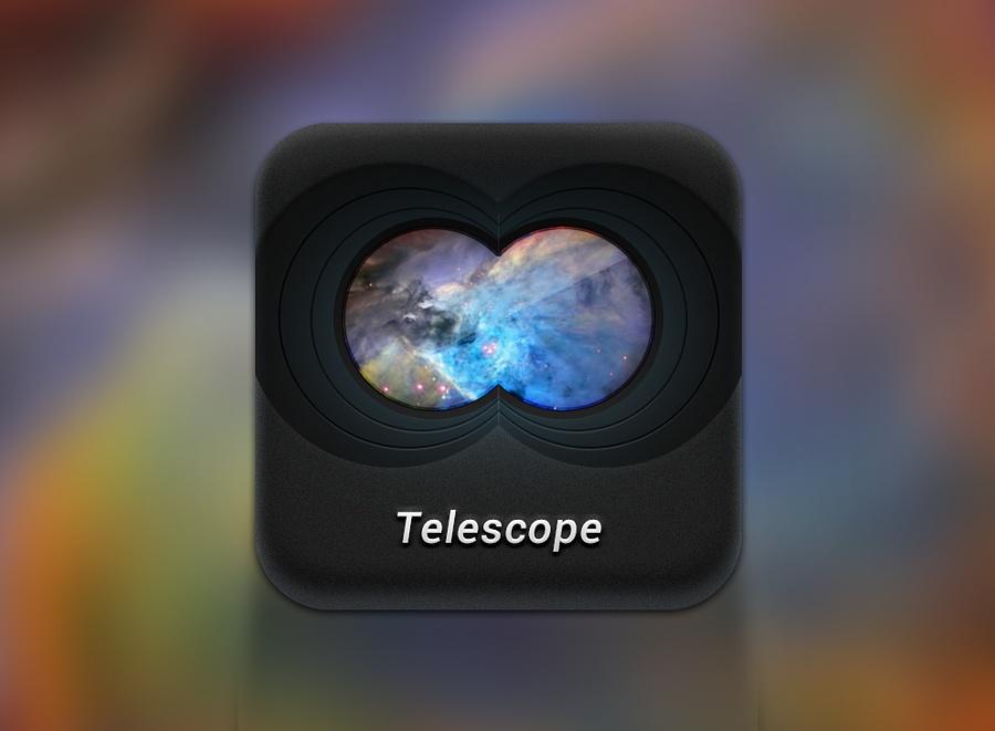 查看《能望见未来的望远镜》原图,原图尺寸:994x730