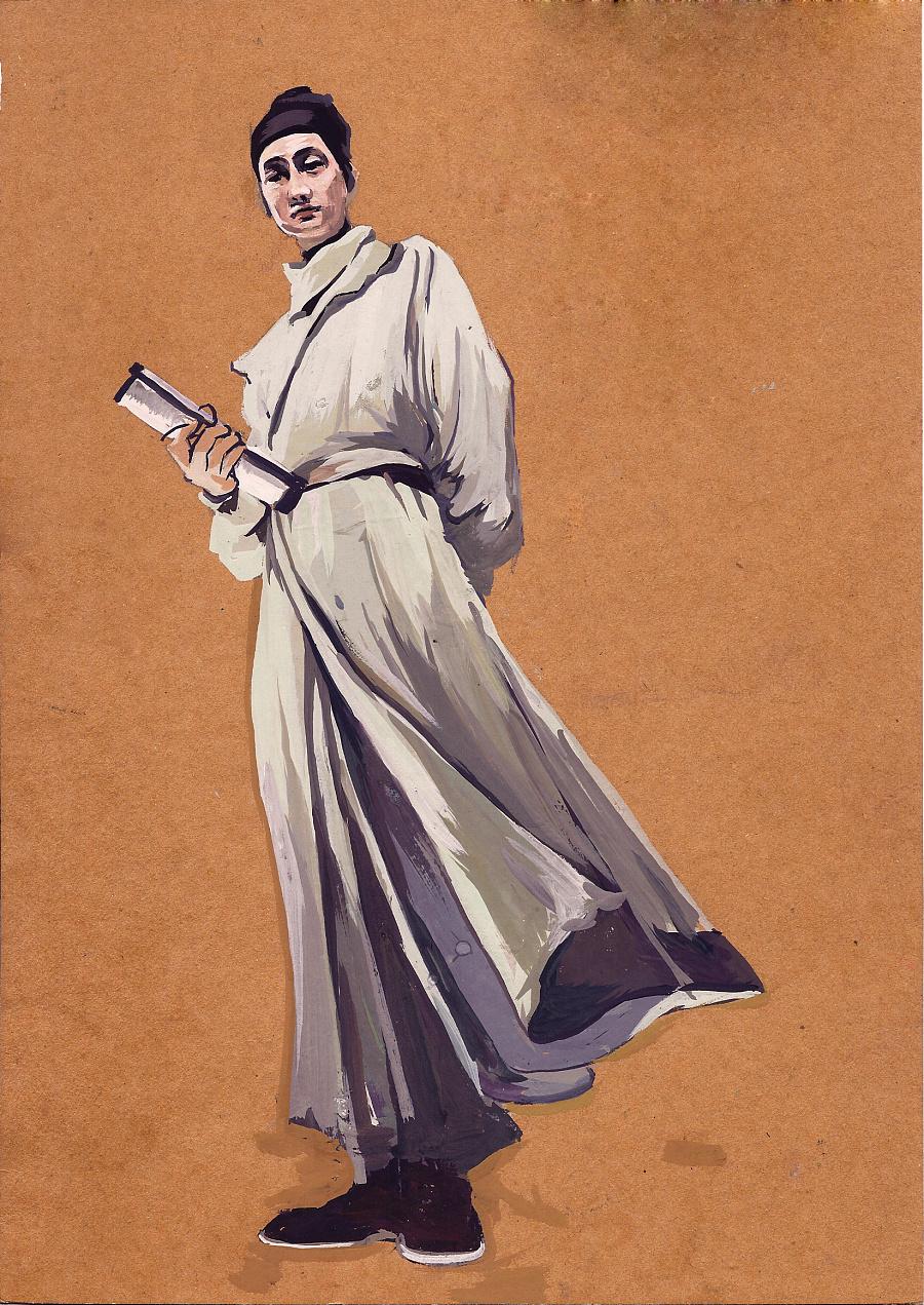 《狄仁杰 —神都龙王》 人物造型手绘练习