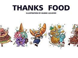 《THANKS FOOD》