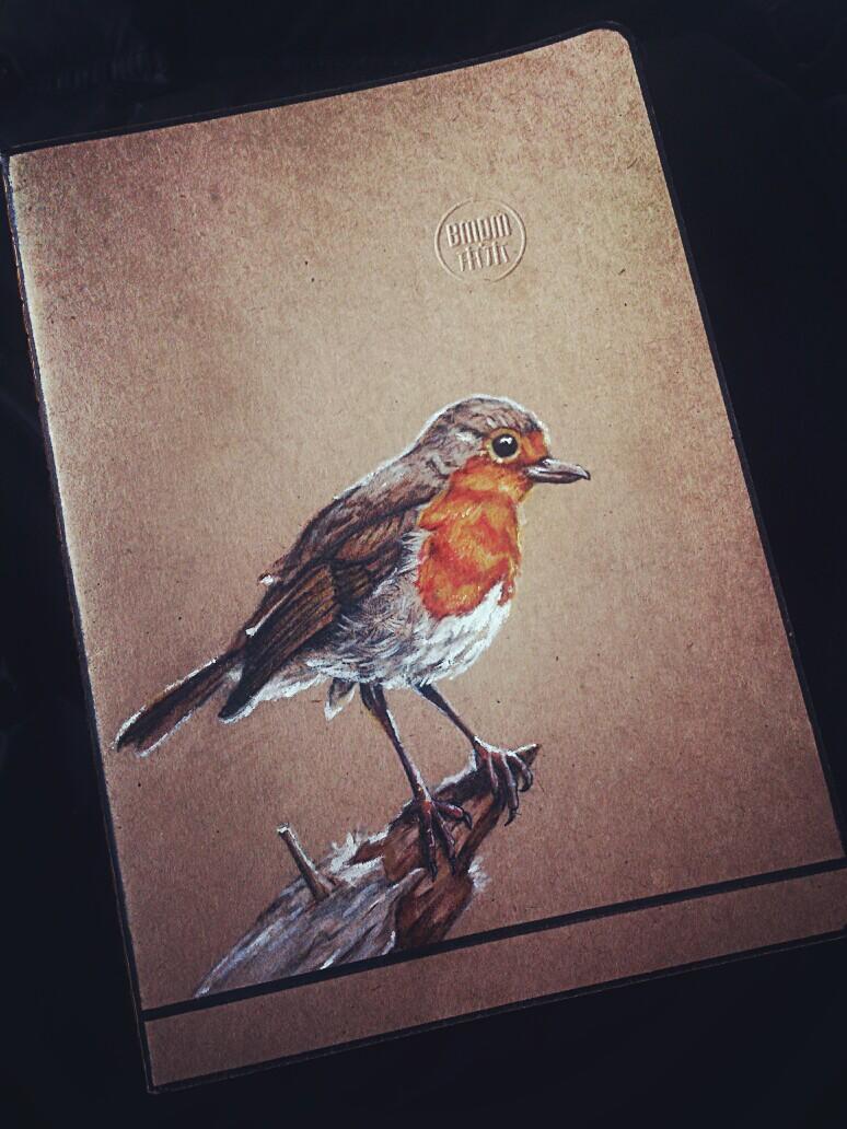 《牛皮本手绘》|涂鸦/潮流|插画|苏沐羽