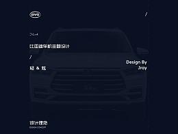 比亚迪车机主题设计_轻&炫