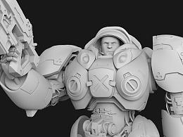 《机枪兵模型制作part-2》