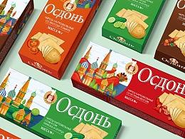 俄罗斯薯片包装设计