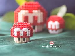 MARD拼豆原创-LOGO蘑菇菌