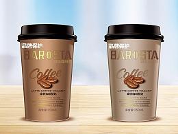 咖啡酸奶包装设计
