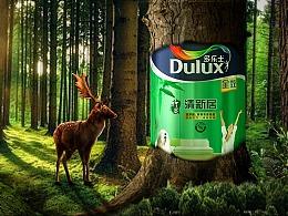 多乐士油漆森林合成