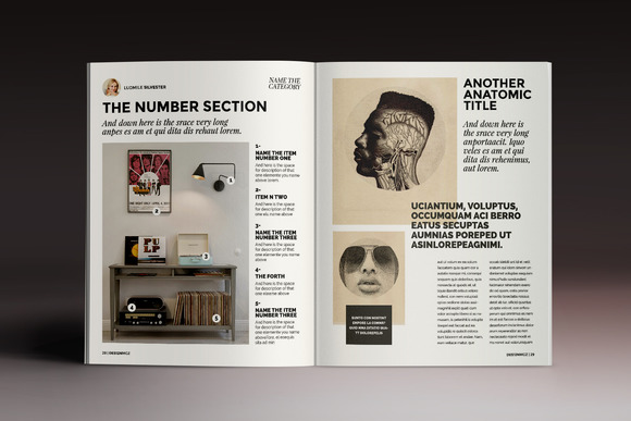indesign中杂志排版,四周如何按尺寸留白图片