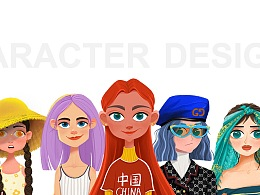 CHARACTER DESIGNS #2