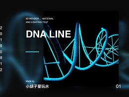 3d DNA链条