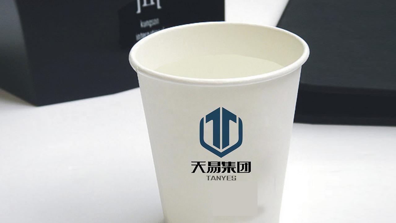 天易集团logo设计