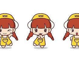MIMI原创表情卡通画系列