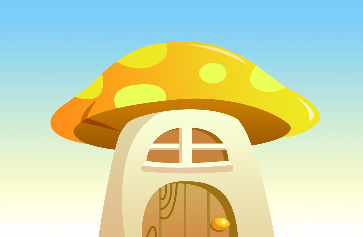 蘑菇卡通图片大全大图